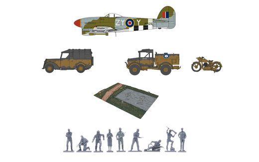 Maquettes militaires : Coffret cadeau D-day 75e anniversaire Air - 1:76 - Airfix 50157