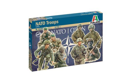 Figurines militaires : Troupes de l'OTAN - 1/72 - Italeri 06191, 6191