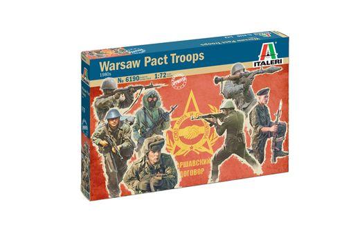 Figurines militaires : Troupes du Pacte de Varsovie - 1/72 - Italeri 06190, 6190