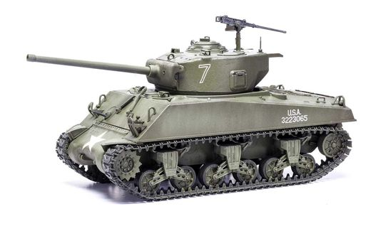 Maquette char d'assaut : M4A3(76)W, Battle of the Bulge - 1:35 - Airfix A1365 1365 - france-maquette.fr