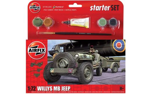MaquetteJeep Willys MB - Airfix 55117