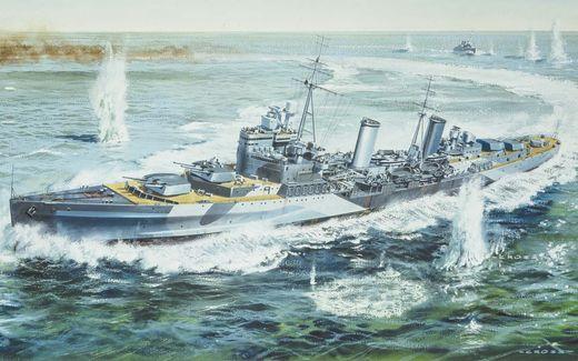Maquette vaisseau : HMS Belfast - 1:72 - Airfix 50069 050069 - france-maquette.fr