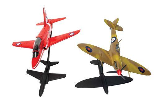 Maquette avion : Best of British Spitfire and Hawk - 1:72 - Airfix 050187 50187 - france-maqeutte.fr