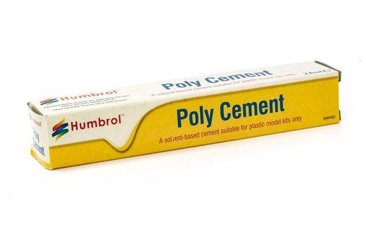 Outil de modélisme : Tube Poly Cement 24 ml - Humbrol AE4422 - france-maquette.fr