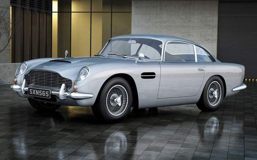 Maquette voiture : Medium Starter Set - Aston Martin DB5 Silver - 1:32 - Airfix 50089B 50089 - france-maquette.fr