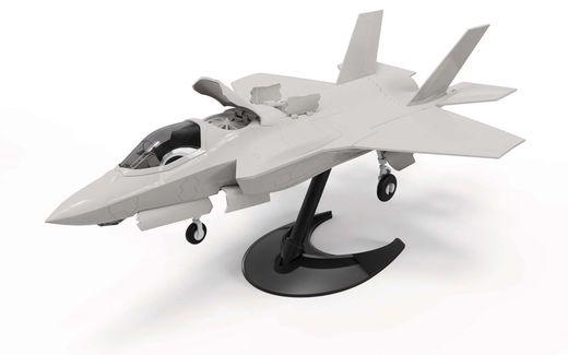 Maquette avion militaire : QUICKBUILD F-35B Lightning II - Airfix J6040 6040 - france-maquette.fr