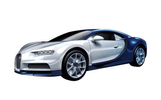 Maquette voiture : QUICKBUILD Bugatti Chiron - Airfix J6044 6044 - france-maquette.fr