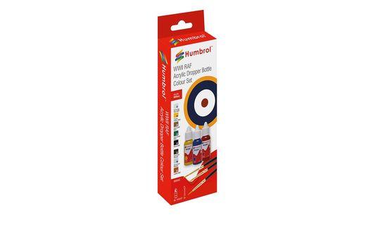 Set de couleurs RAF - Humbrol DB9062 9062