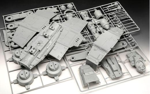 """Maquette Star Wars : AT-AT - 40th Anniversary """"L'empire contre-attaque"""" - 1:53 - Revell 05680, 5680 - face-maquette.fr"""