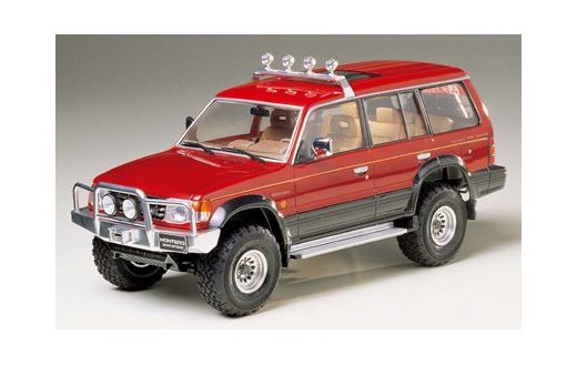 Maquette de voiture de sport : Mitsubishi Montero Sport Options - 1/24 - Tamiya 24124