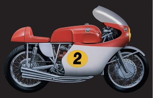maquette moto 4 cylindres mv agusta 500 cc 1964. Black Bedroom Furniture Sets. Home Design Ideas