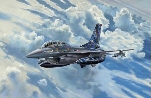 Maquette Avion : F-16D Fighting Falcon - 1:72 - Revell 03844, 3844