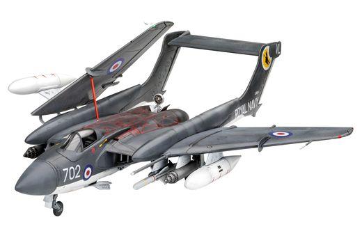 Maquette avion : Model Set Sea Vixen Faw 2 - 1:72 - Revell 63866