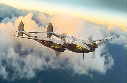 Maquette avion militaire : P-38J lightning - 1:72 - Italeri 01446 1446