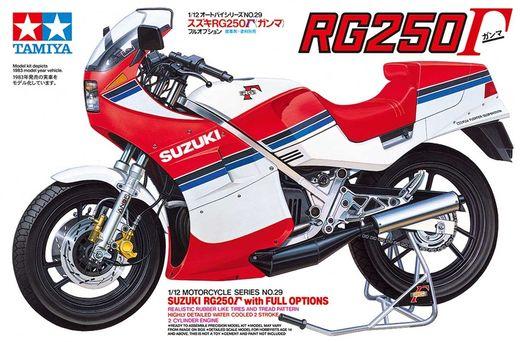 Maquette moto : Suzuki RG 250 Full Options - 1/12 - Tamiya 14029