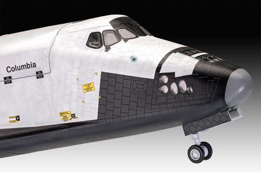 Maquette en plastique : Coffret cadeau navette spatiale 40e anniversaire - 1:72 - Revell 05673 5673