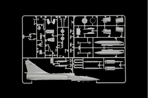 Maquette avion militaire : Mirage 2000C - 1/72 - Italeri 01381