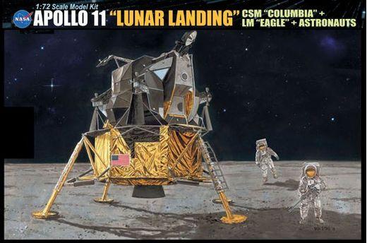Maquette espace - Apollo 11 Atterrissage Lunaire ‐ 1/72 - Dragon 11002