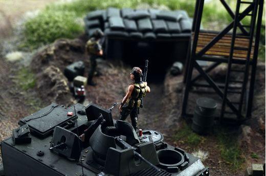 Diorama militaire : Guerre du Vietnam - 1/72 - Italeri 06184