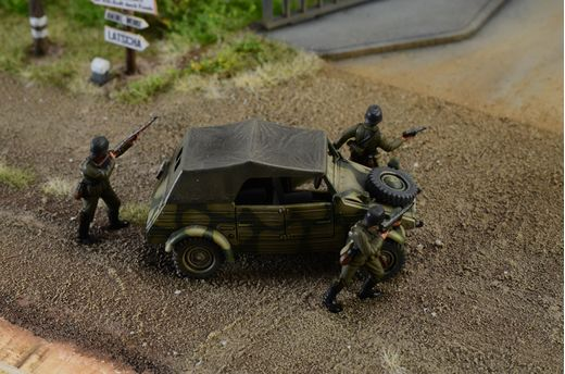 Diorama militaire : Assaut « Pegasus Bridge » - 1/72 - Italeri 06194, 6194