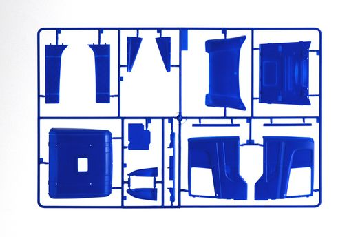 Maquette voiture : Scania R400 Streamline Cabine Basse - 1:24 - Italeri 03947 3947