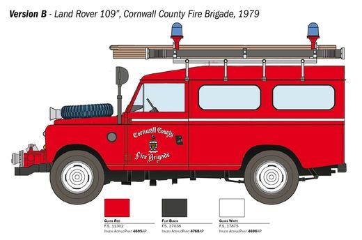 Maquette voiture : Range Rover Pompiers - 1:24 - Italeri 03660 3660