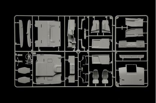 Maquette camion : VOLVO FH4 Globetrotter Medium Roof - 1:24 - Italeri 3942 03942