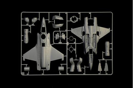 Maquette avion militaire : F‐35B Lightning II STOVL - 1:72 - Italeri 01425, 1425