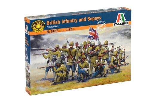 Figurines militaires : Infanterie Britannique/Cipaye - 1/72 - Italeri 06187 6187