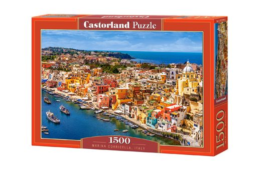 Puzzle Marina Corricella - 1000 pièces - Castorland 151769-2