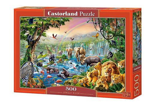 Puzzle Jungle river - 500 pièces - Castorland 52141