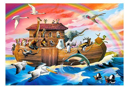 Puzzle Arche de Noe - 60 pièces - Castorland 066186