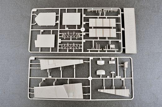 Maquette bateau militaire : USS Intrepid CV-11 Ré-édition - 1:350 - Trumpeter 05618 5618