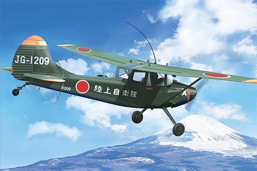 "CESSNA L-19/O-1 BIRD DOG ""ASIAN SERVICE"" - 1/32 - Roden 612"