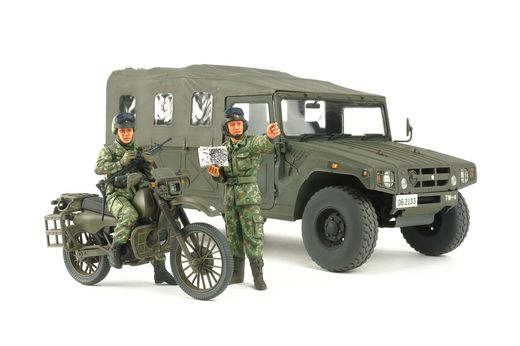 Maquette véhicule militaire : Combo reconn Jgsdf - 1/35 - Tamiya 25188
