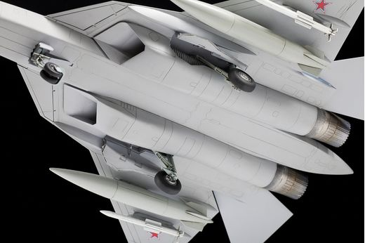 Maquette d'avion militaire : Sukhoï Su-57 - 1/72 - Zvezda 7319 07319