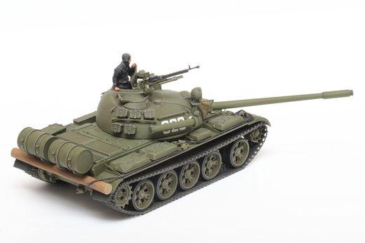Maquette char d'assaut : Russian Medium Tank T-55 - 1/48 - Tamiya 32598 - france-maquette.frMaquette char d'assaut : Russian Medium Tank T-55 - 1/48 - Tamiya 32598 - france-maquette.fr