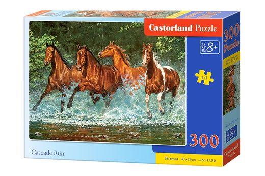 Puzzle Chevaux Cascade - 300 pièces - Castorland 030361