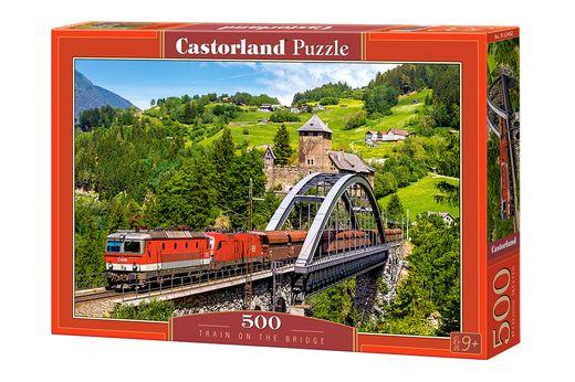 Puzzle Train 500 pièces - Castorland 52462