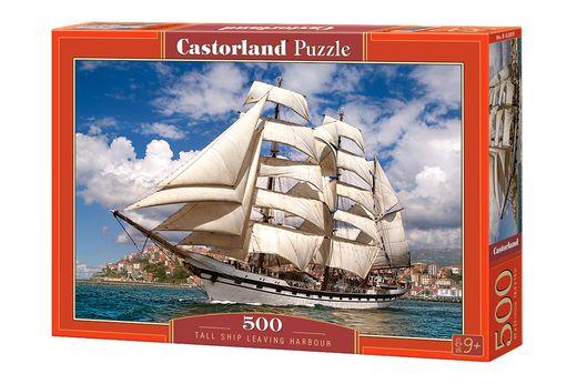 Puzzle Grand Voilier - 500 pièces - Castorland 52851