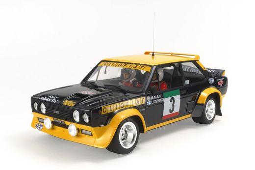 Maquette voiture : 131 Abarth Rally Olio Fiat - 1:20 - Tamiya 20069