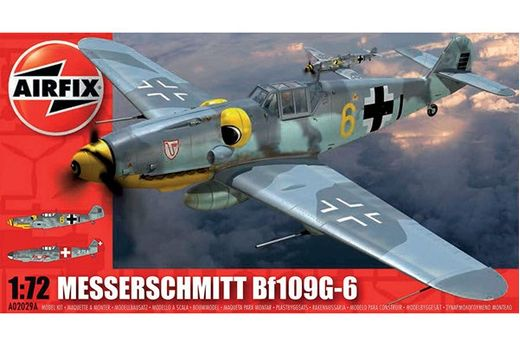 Maquette avion MESSERSCHMITT BF109G-6 au 1:72 - Airfix 2029A