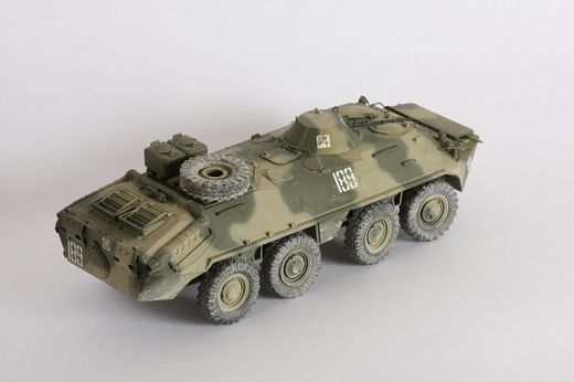 Maquette véhicule militaire : BTR-70 Afghanistan - 1:35 - Zvezda 3557