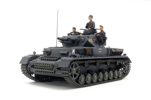 Maquette militaire : Tank allemand Pz.Kpfw.IV - 1:35 - Tamiya 35374