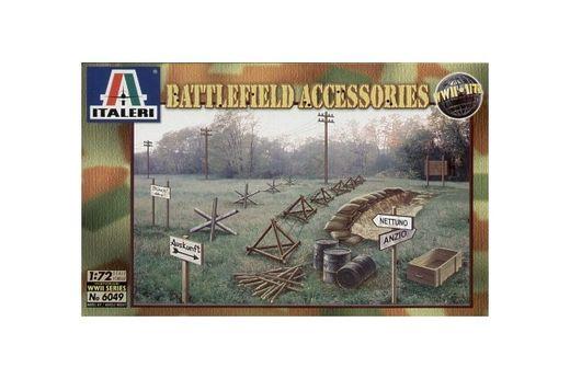 Accessoires pour décors de seconde guerre mondiale - Italeri 06049