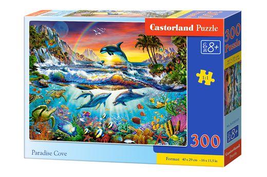 Puzzle Crique Paradisiaque - 300 pièces - Castorland 030101