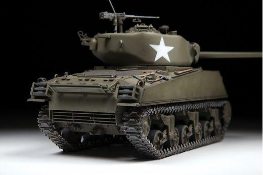 Maquette militaire : M4A3(76) Sherman - 1/35 - Zvezda 3676 03676