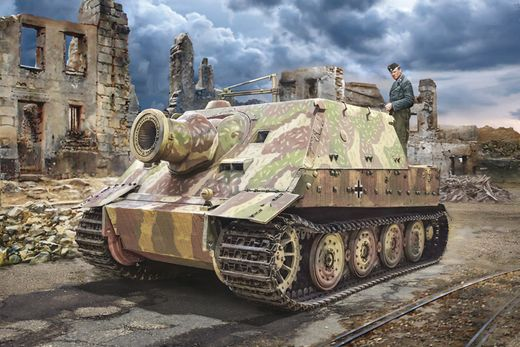 Maquette militaire : Sturmmörser Tiger - 1/35 - Italeri 6573 06573