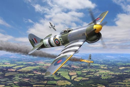 Maquette avion : Hawker Tempest V - 1:32 - Revell 03851, 3851 - france-maquette.fr