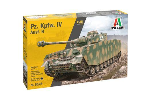 Maquette militaire : Panzer IV Ausf.H - 1/35 - Italeri 6578 06578
